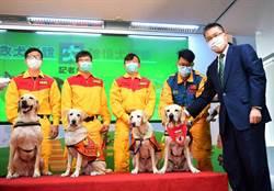 徐國勇為搜救犬授階 最高2線1