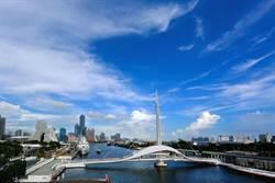全台首座水平旋轉的高雄大港橋 今啟用