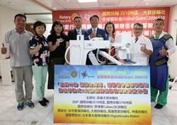 獲贈300萬數位移動式X光機 恆基:多一利器照顧台灣尾