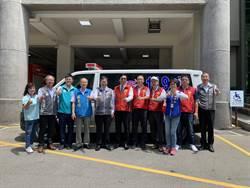 觀自在慈善會 連續捐15年救護車給桃園市府