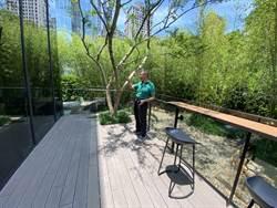 惠宇響應宜居建築 把餐桌搬到陽台!