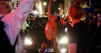 影/報復式狂歡!英國解封 街頭民眾擠爆「沒人戴口罩」