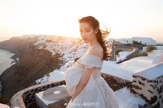 迪麗熱巴染髮齊劉海萌自拍 根本人間芭比美哭!