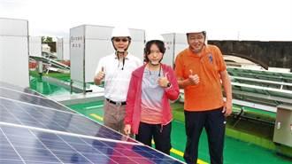 全台最年輕太陽光電設置乙級技術士 17歲王冠樺巾幗不讓鬚眉