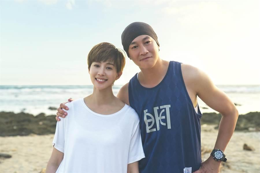 張鈞甯力挺好友何潤東演出《誰在你身邊》。(頤東娛樂提供)