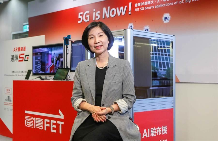 遠傳5G上周開賣,今即發表與優必達最新合作消息,圖為總經理井琪。(圖/業者提供)
