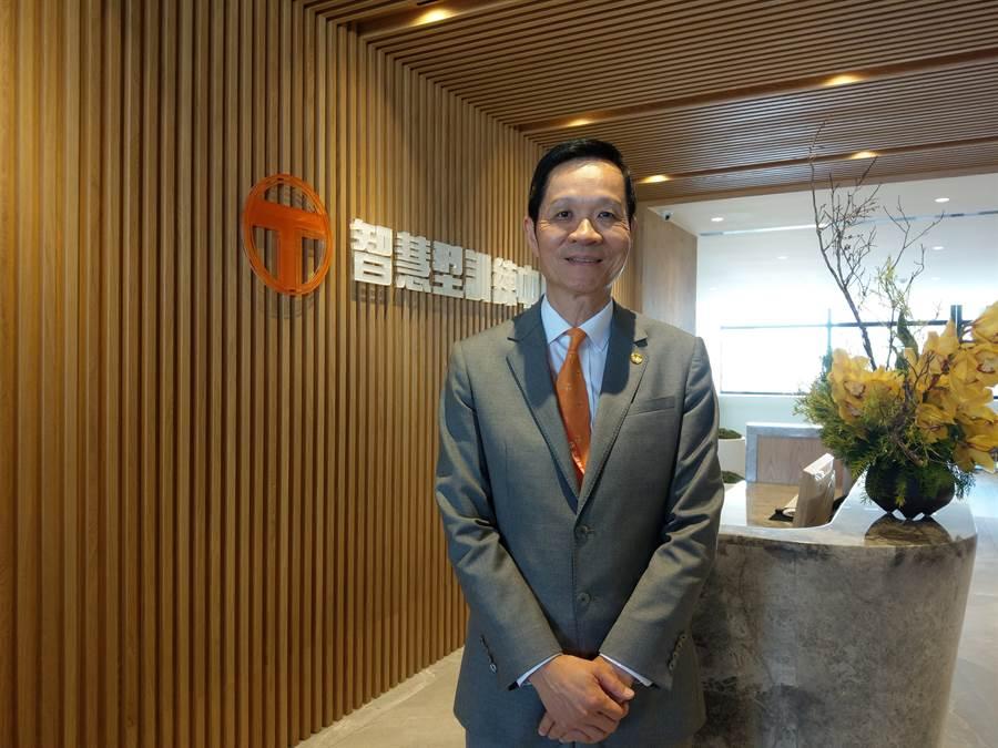 台灣房屋集團總裁彭培業表示,不動產非快速消費品,下半年房市並不會有報復性買盤。(葉思含攝)