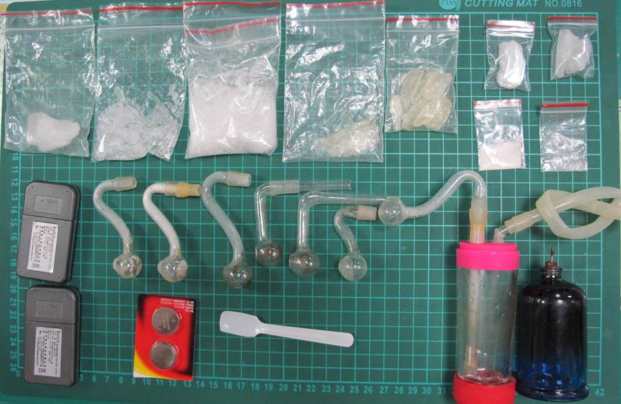 金門警方查獲的毒品之二。(警方提供)