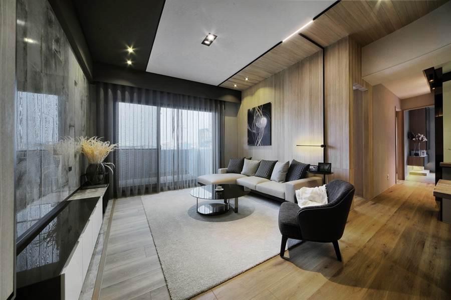 上德滙推出3房,4房兩種格局規劃,吸引換屋族前來賞屋。(圖由業者提供)