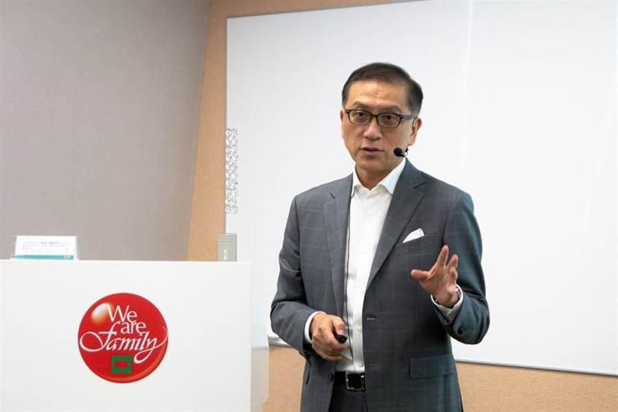 中信金控總經理吳一揆今日出席MA新人訓練。圖/中信金控提供