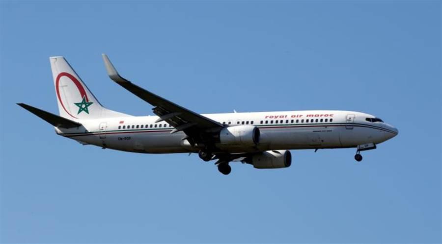 南韓航空業為緩解大幅度衰退,爭取飛往大陸的航班。圖為摩洛哥航空。(路透)
