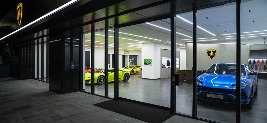 LamborghiniTaipei展示中心再臻卓越,嶄新品牌識別強化全臺服務網絡