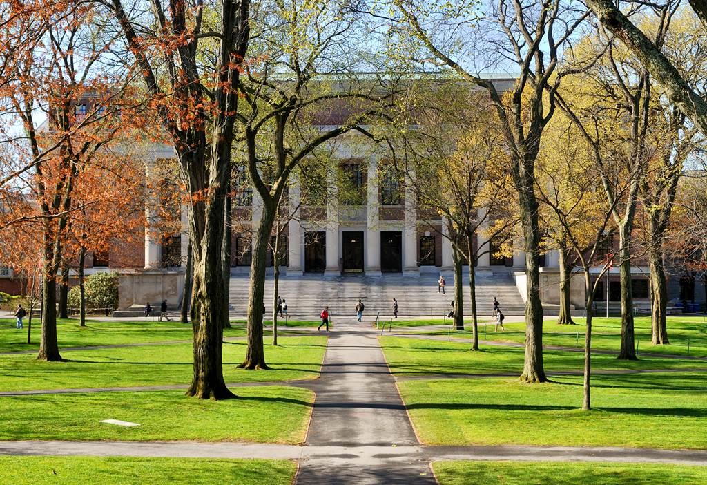 哈佛大學。(Shutterstock圖片)