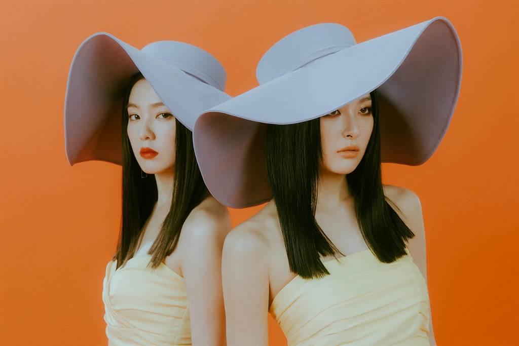 Red Velvet - IRENE & SEULGI首張迷你專輯《Monster》宣傳照。(avex提供)