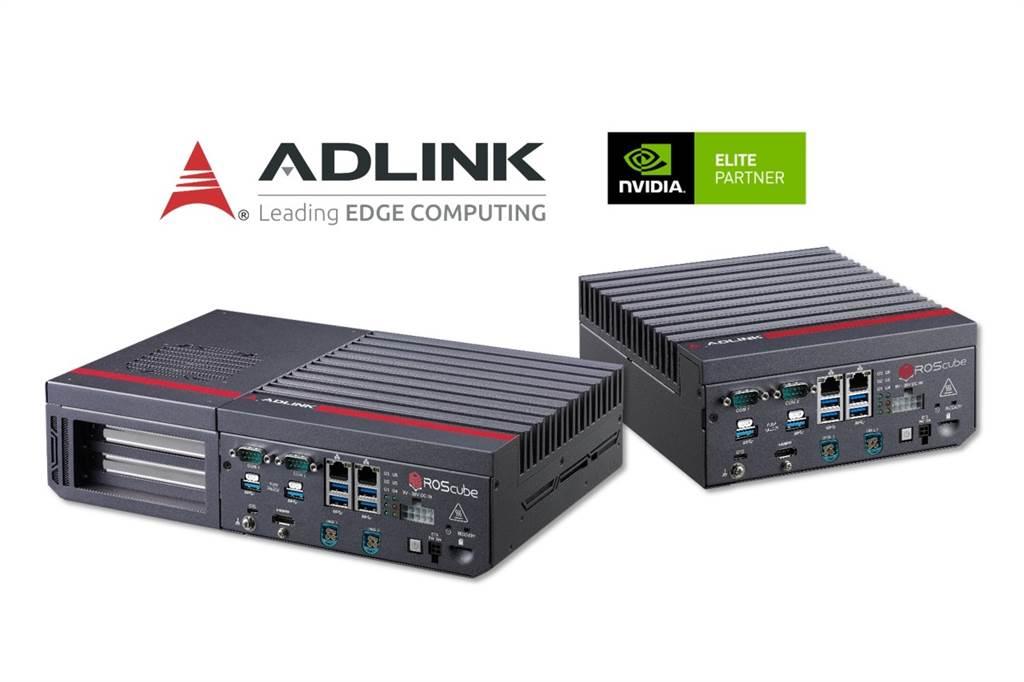 工業電腦廠凌華宣布攜手NVIDIA(輝達),推出專為高階機器人應用打造的即時ROS 2機器人控制器ROScube-X系列。(凌華提供)