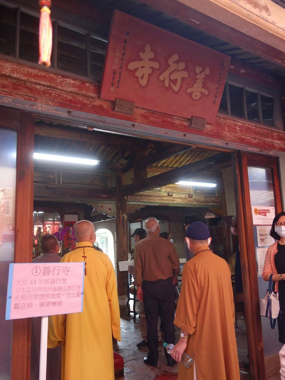 佳里區「善行寺」決議登錄為歷史建築。(台南市文資處提供/曹婷婷台南傳真)