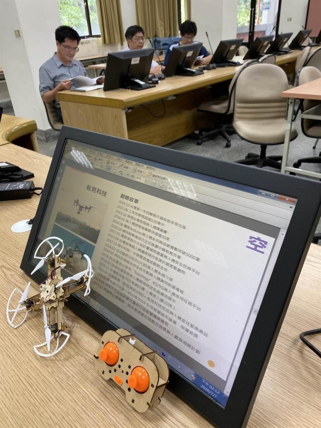 卓蘭高中7日宣布與海洋大學合作,將於新學年度開設「無人機農噴技術人員培訓課程」,希望培養在地科技人才。(國立卓蘭高中提供/巫靜婷苗栗傳真)