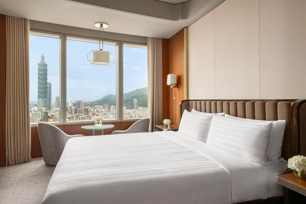 香格里拉台北遠東國際大飯店- 雅仕套房。(遠東飯店提供)