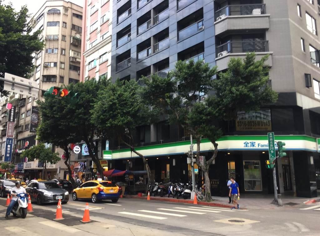 台北市便利商店最多路段為中山區林森北路。(葉思含攝)