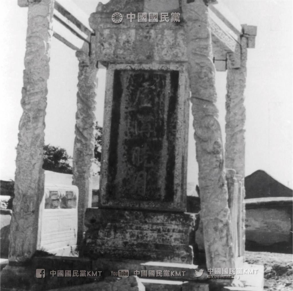 1937年7月7日蘆溝橋事變發生地,盧溝橋名勝「盧溝曉月」。(國民黨臉書)