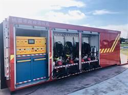 全台首個「水域救援櫃」亮相 桃市消防特搜水域演練成果驗收