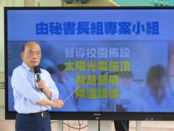 全台10萬間國中小教室裝冷氣  蘇貞昌:拚2022年夏天前人人有冷氣吹