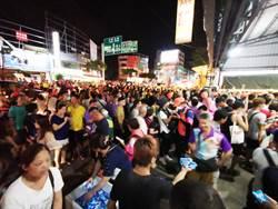 白沙屯媽駐駕員林湧5萬民眾 各種溫暖舉動讓信眾好感動