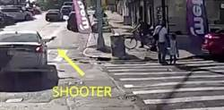 死亡影片曝光!美國爸牽女過馬路突遭開槍 倒地痛苦掙扎