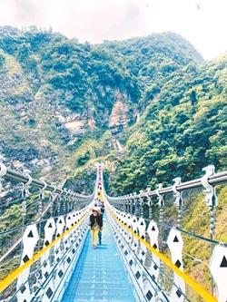 七彩吊橋萬人嘗鮮 提升遊憩品質
