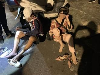 警破獲桃園賭場 賭客跳樓落跑結果腳脫臼