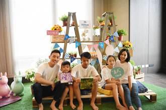 「類野餐」親子住宿放鬆趣 台北新板希爾頓推新玩法