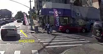 驚悚畫面曝!老爸牽幼女過馬路…下秒遭「亂搶掃射」倒地亡