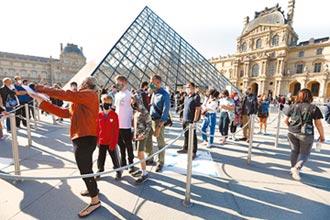 防疫閉館4個月 羅浮宮重啟