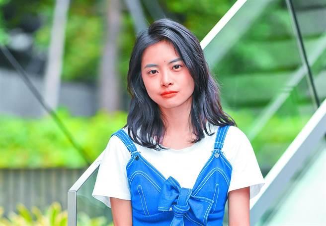 23歲的游珈瑄憑《家庭式》提名台北電影獎3項大獎,前途似錦。(盧禕祺攝)