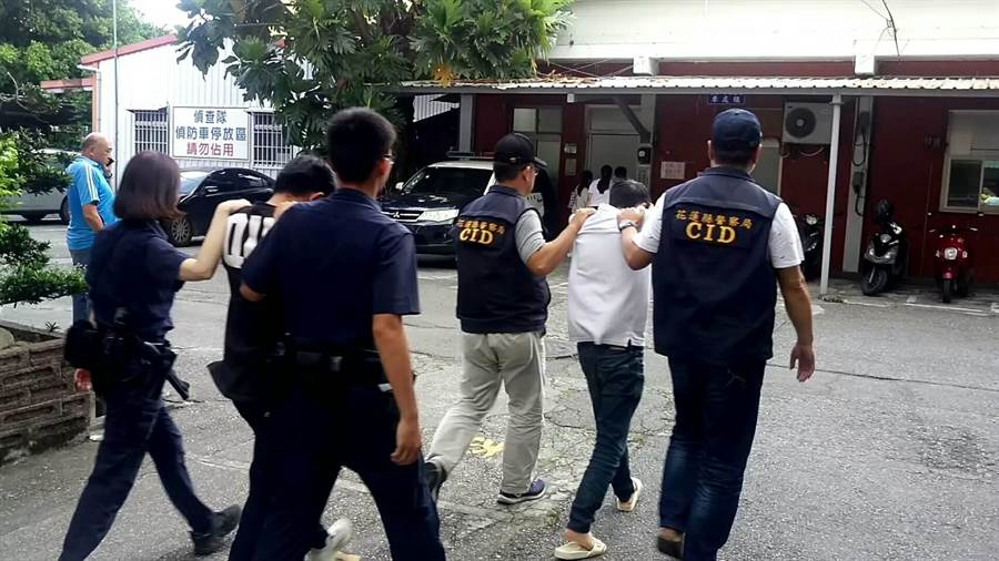5日清晨吉安發生1死1傷槍案,相關涉案人今被警方移送花蓮地檢署偵辦。(羅亦晽翻攝)