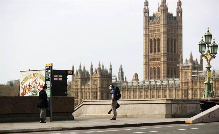 圖為英國示意圖。(路透社)