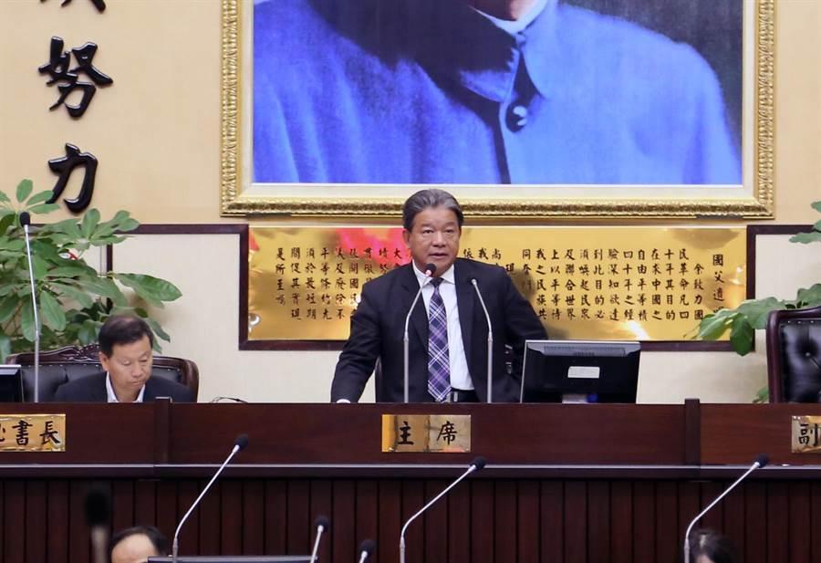 台南市議會第3屆第3次定期會7日審查完畢。(洪榮志攝)