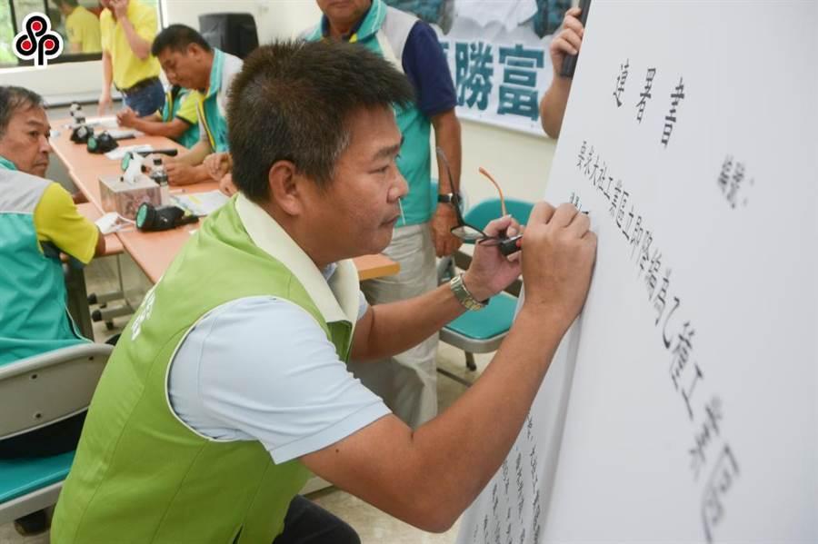 民進黨高市議員張勝富宣布爭取議長補選提名,將與另2名登記者陳明澤、韓賜村協調產生人選。(本報資料照片)