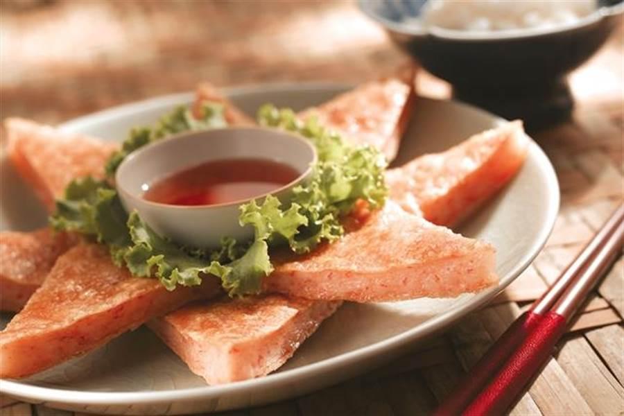 瓦城月亮蝦餅。(瓦城泰統提供)