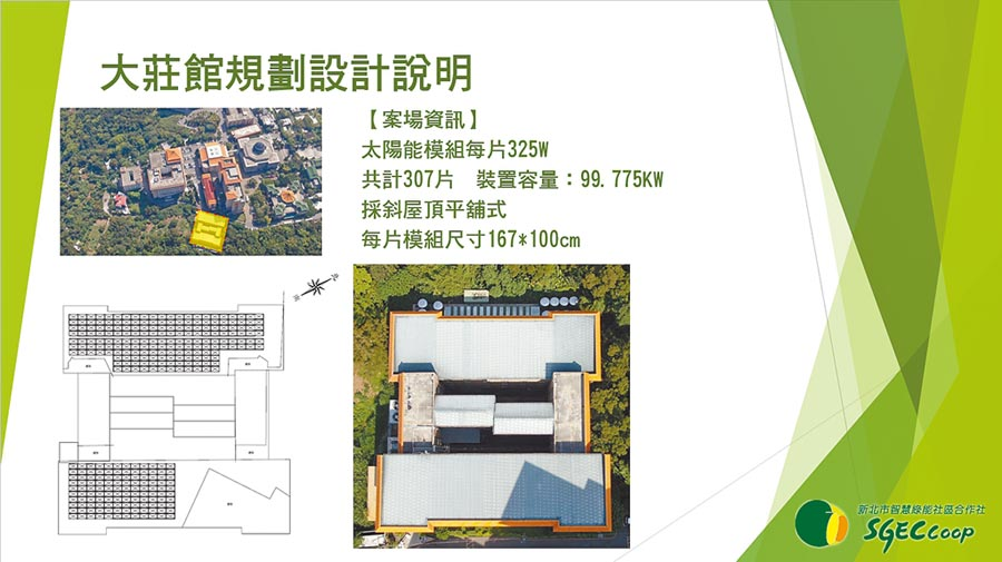 文大校園將建置社區公民電廠。(文大提供/林志成台北傳真)