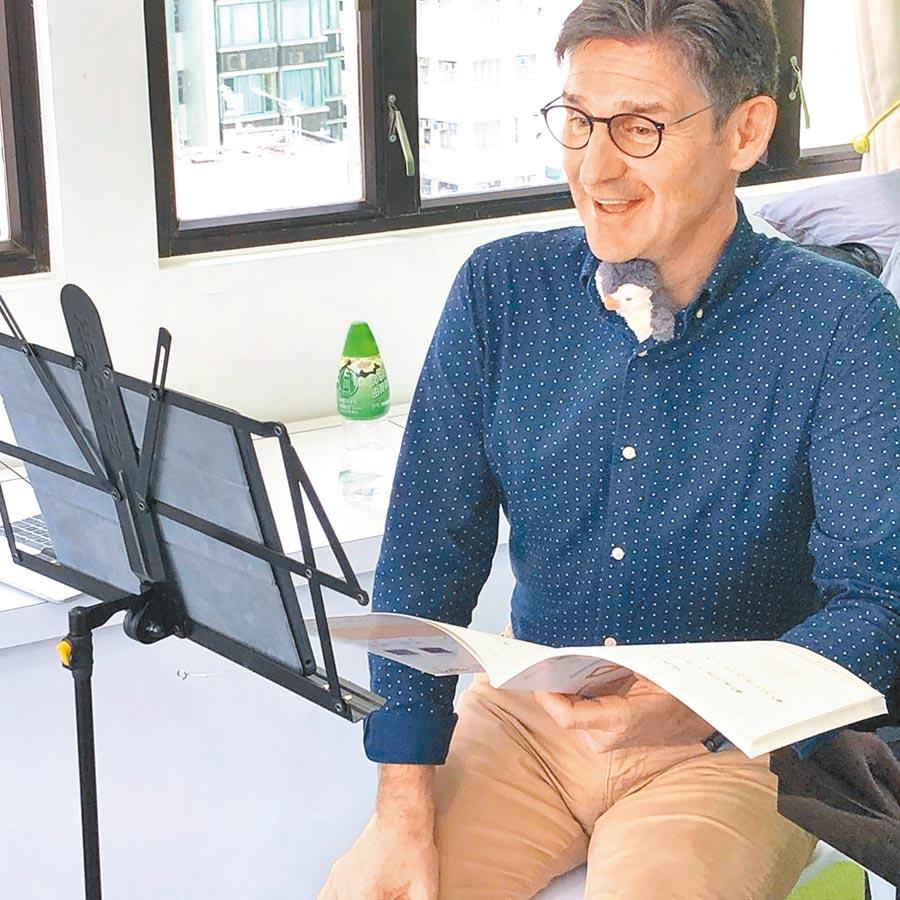 前國王歌手合唱團保羅菲尼斯,將在線上開講,分享阿卡貝拉演唱的要訣。(桃園合唱藝術節提供)