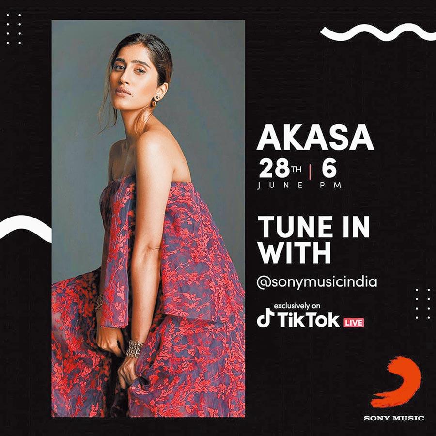 印度歌手利用TikTok舉辦線上活動。(取自TikTok India Twitter)