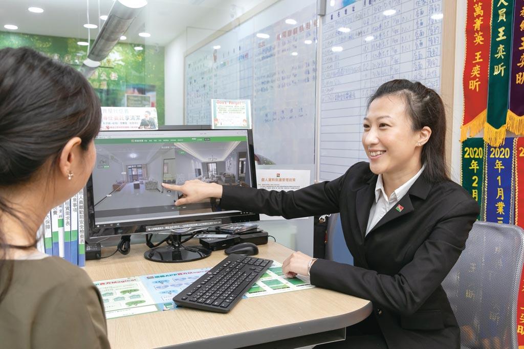 信義房屋推出全新的「DiNDON智能賞屋」服務,為台灣房仲業界首次運用AI演算法產生3D建模降低拍攝成本。圖/信義提供
