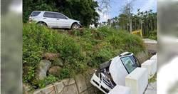 情侶爆口角!竟將女子賓士車撞下山溝 肇事男親吐原因