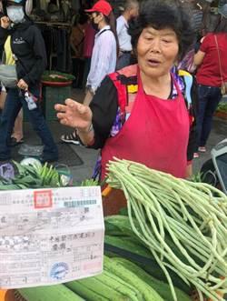 金山市場擺攤亂象 違規菜販挨罰喊「嘸路可擺」