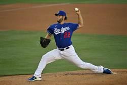 MLB》寫歷史!柯蕭9次擔任道奇開幕戰先發投手