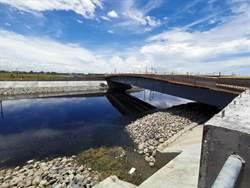 台南斥資1億4000萬 下營黑橋改建解決淹水夢魘