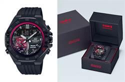 CASIO EDIFICE攜手日本頂級車隊TOMS 再推聯名錶款