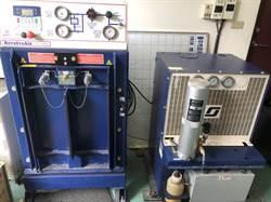 綠批固定式空氣壓縮機損壞未修 中市府:已編列200萬檢測