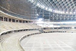 大巨蛋下周復工 拚明年底完工